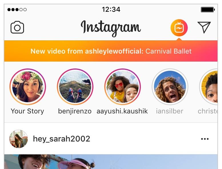 Instagram планує посунути YouTube із трону короля відеохостингів