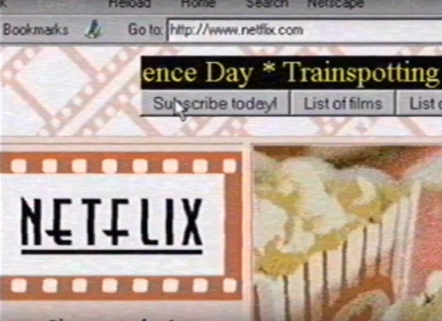Яким міг бути Netflix у 1995 році