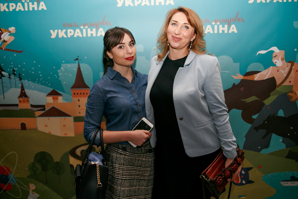 Комаров, Горбунов, Галич і Харчишин на презентації проекту «Книга-мандрівка. Україна»