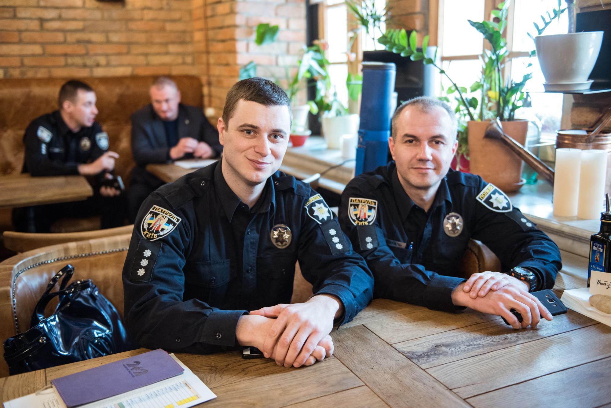 Другая сторона патрульной полиции