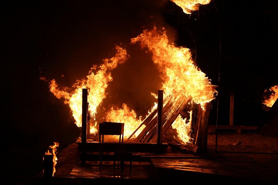 На зйомках серіалу «Рятівники-2» пожежа знищила кафе улюбленого ресторатора Джамали