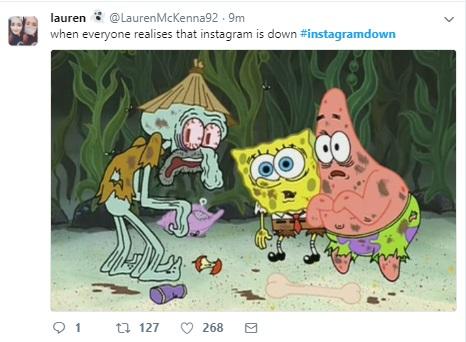 Instagram «лег», пользователи пеняют на Twitter