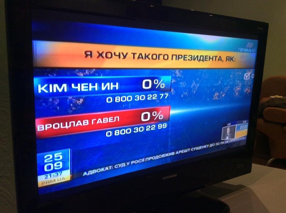 Телеканал «Прямий» облажався в прямому ефірі