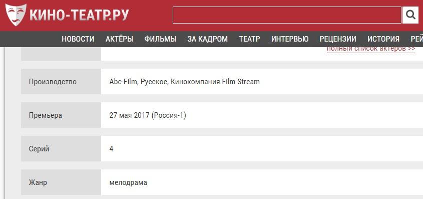 Чия Марго? ТРК «Україна» планує вчергове показати серіал російського виробництва
