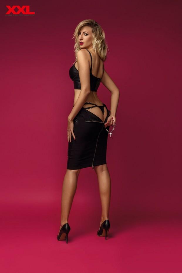 Леся Никитюк обнажилась в горячей фотосессии для XXL
