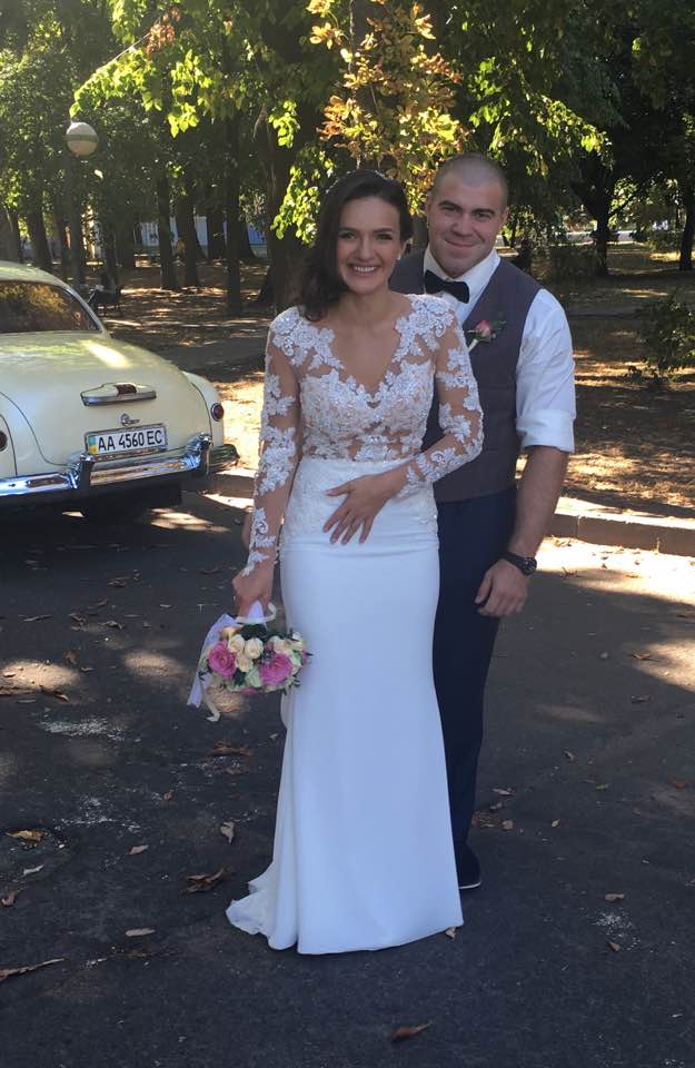 Журналистка СТБ Алена Лунькова вышла замуж за полицейского