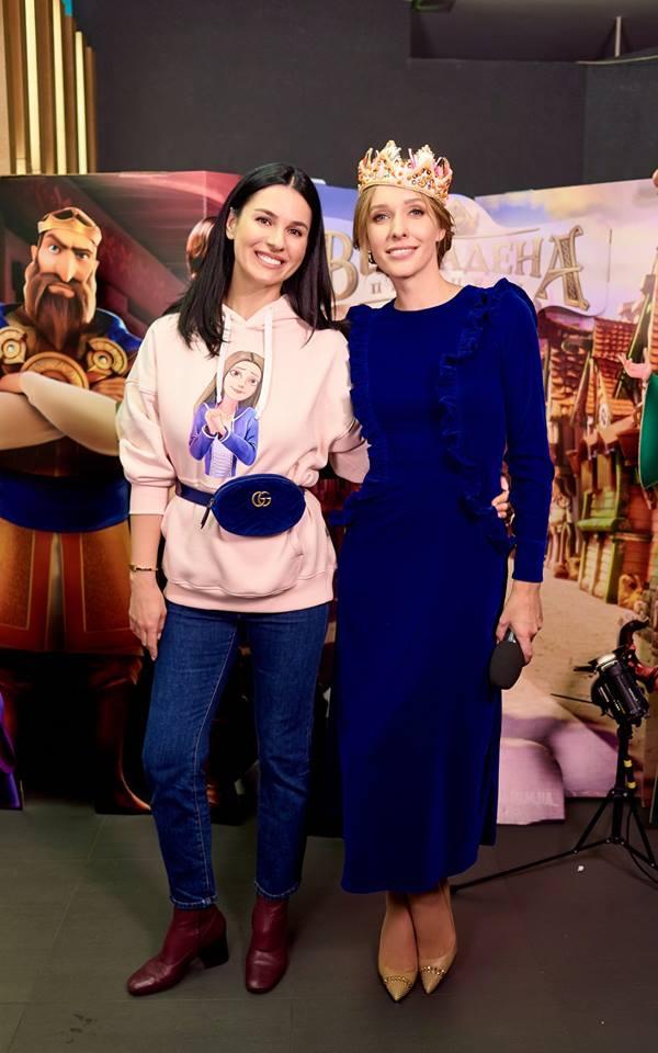 Катя Осадча приміряла корону «Викраденої принцеси»
