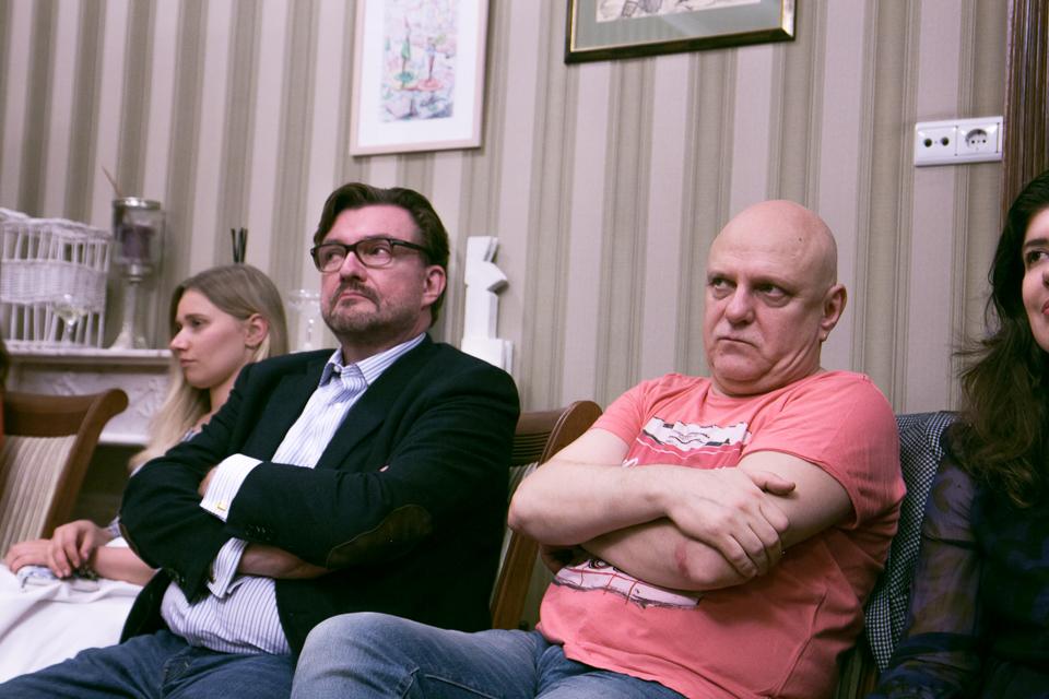 Евгений Киселев, Мыкола Вересень, Даша Астафьева и Константин Дорошенко в «Королевстве первой октавы»