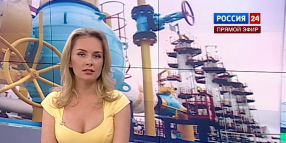 Голые русские журналистки видео модное