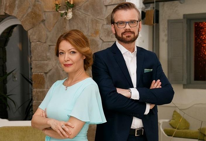 Ведущие «Одруження наосліп» Егор Тополов и Елена Любченко: отношения с другим человеком нужно начинать с себя