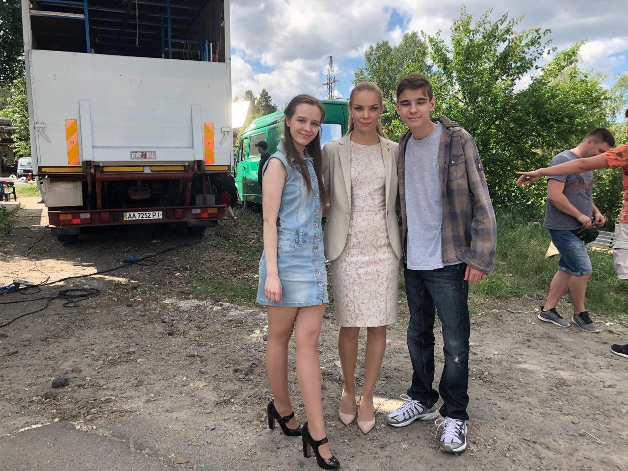 Звезда «Школы» сыграла сироту в новом сериале на «1+1»