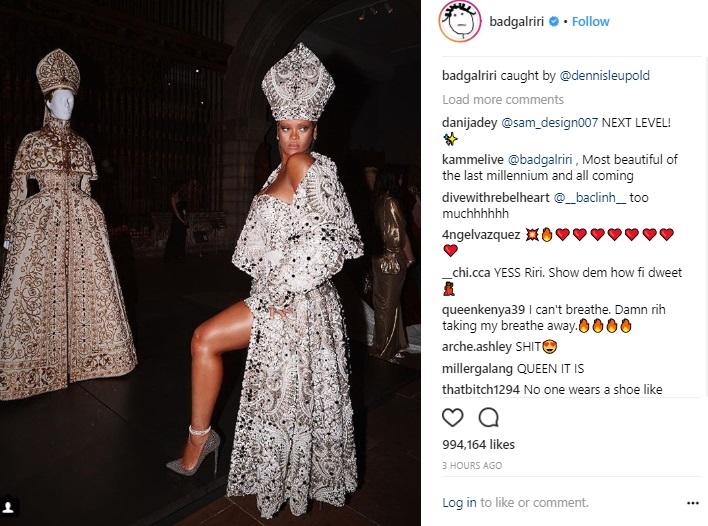 Ріанна в костюмі Бейонсе і Карди Бі в кокошнику: кращі образи на Met Gala 2018