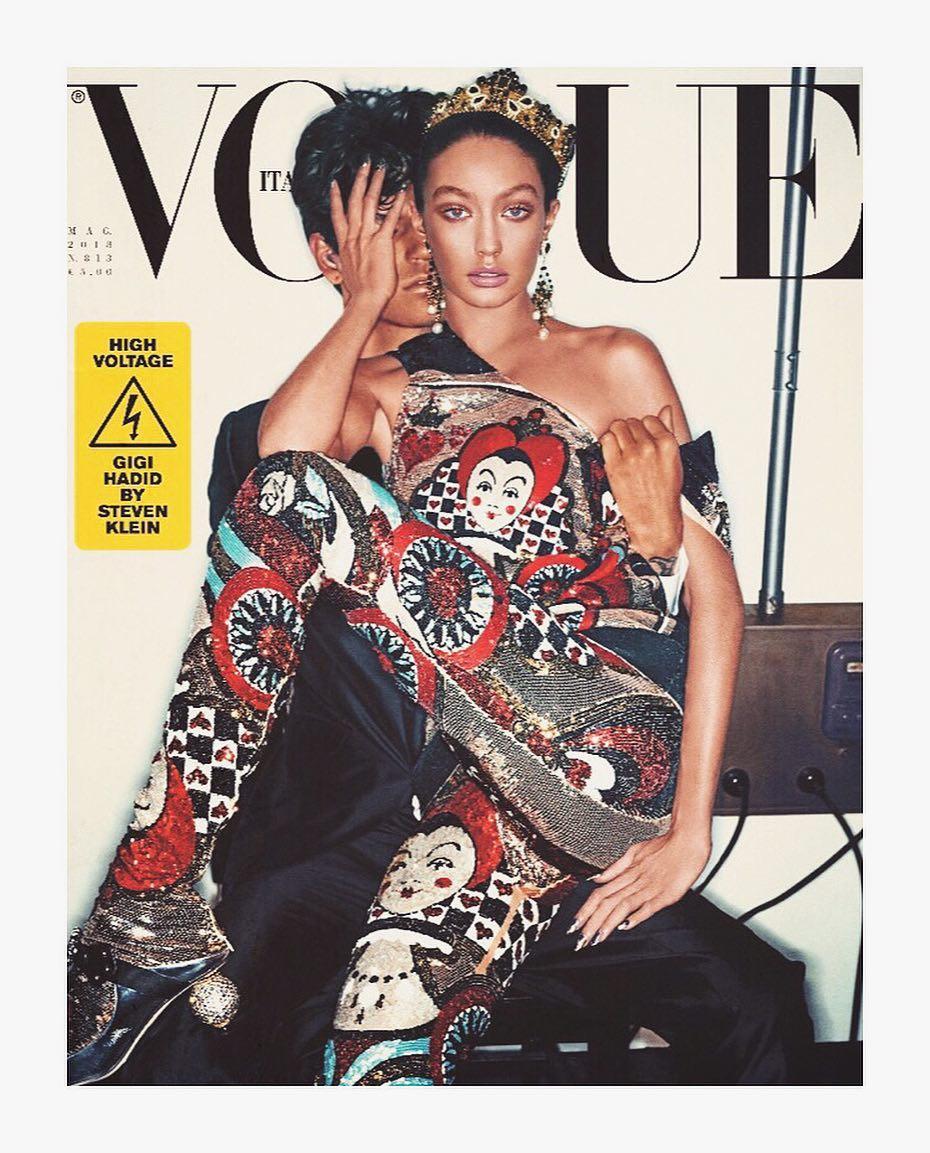 У мережі обурилися обкладинкою нового номера італійського Vogue