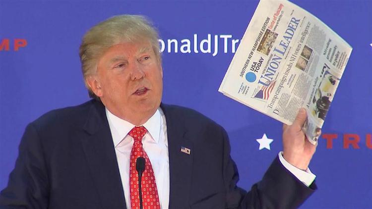 За что американские СМИ так не любят Трампа