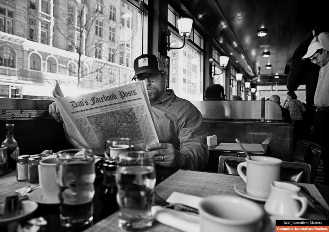 В рекламной кампании для американского издания креативно напомнили о значимости реальной журналистики
